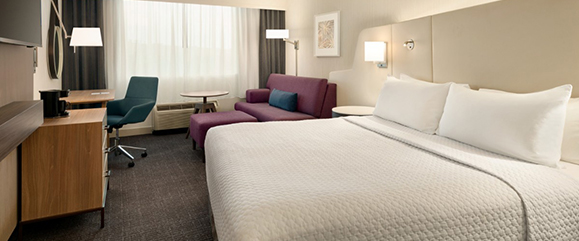 Crowne Plaza Overnight Guest Accommodations